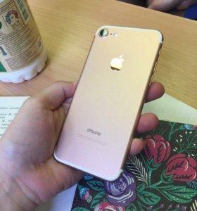 iPhone 7 розовый 128 ГБ