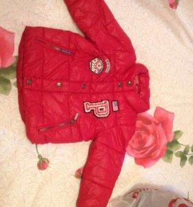 Куртка осень-весна 92