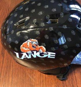 Новый горнолыжный шлем Lange, XS
