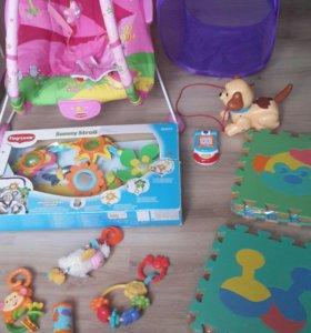 Игрушки tiny love fisher price новые
