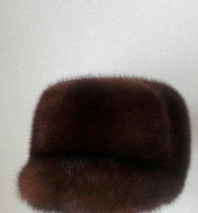 Мужская норковая шапка новая