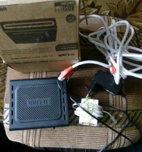 Маршрутизатор DSL-2500U, Ver RU_1.50