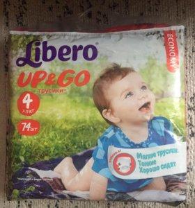 Подгузники Libero 74шт