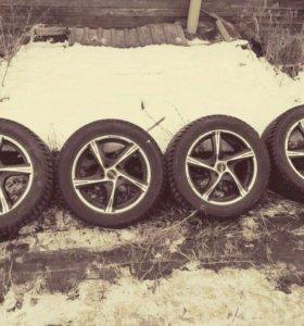 Колеса 215х55/R16x5.