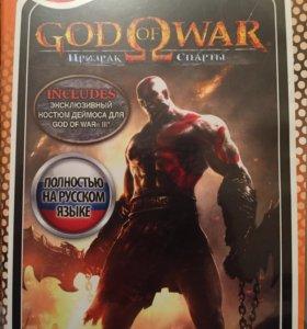 Диск God of war на PSP