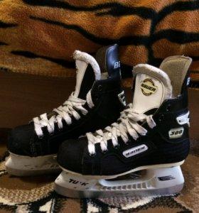 Коньки хоккейные детские по  стельки 23 см