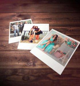Фотопечать срочная, печать фотосувениров