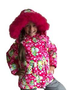 Комплект для девочки зимний
