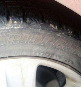 Шины Зима-Bridgestone Blizzak WS60 205/55/R16