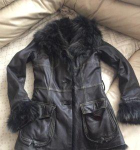 куртка меховая , женская
