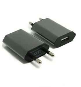 Зарядное устройство (адаптер со входом USB ) черны