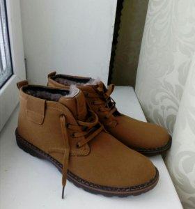 Новые ботинки мужские зимние