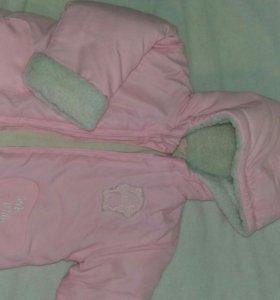 Новая курточка на весну 86 размер