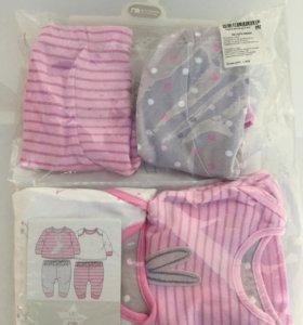 Комплект штанишки и кофточки mothercare