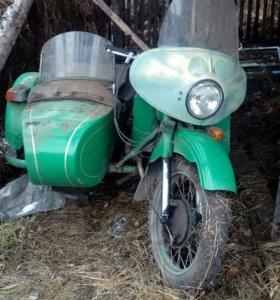 Урал М-67 с колсякой в отличном состоянии