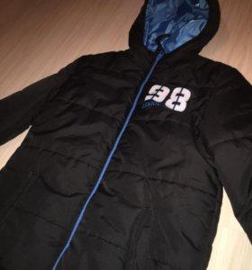 Новая куртка demix