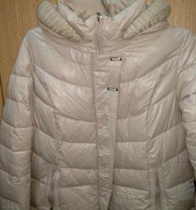Зимнее стеганное пальто новое!размер 58-60!