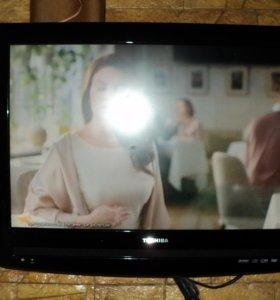 телевизор TOSHIBA со встроенным DVD проигрывателем
