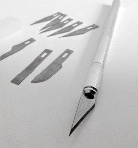 Очень острый канцелярский нож