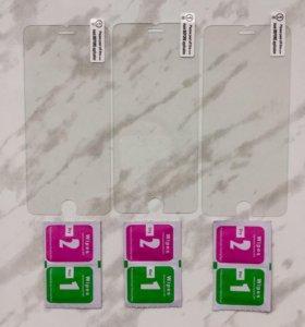 Закаленное стекло для iPhone 6/6s.