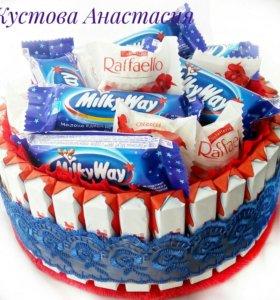 Тортик со сладостями №5
