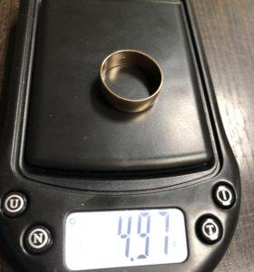 Кольцо золото 585 4,97гр