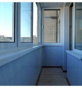 Облицовка пластиковыми панелями (балконов)