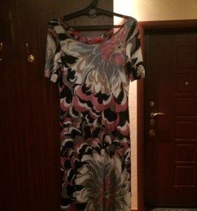 Платье с лайкрой