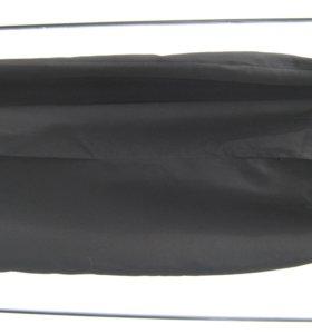 Юбка черная шерстяная на подкладке