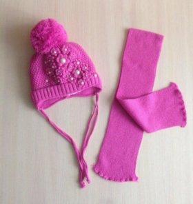 Комплект (шапка+шарф), шапка