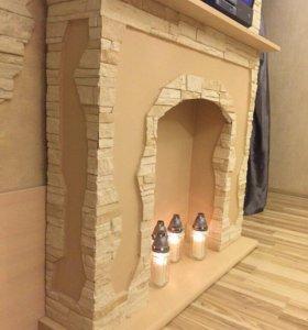 Камин-декоративный