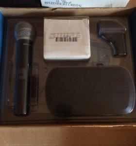 Микрофон беспроводной зачетный
