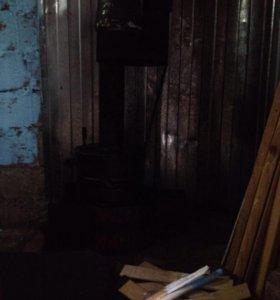 Печка для гаража ( на отработке)