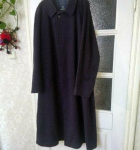Мужское демисезонное кашемировое пальто
