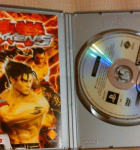 Игра для PlayStation 2 Tekken5