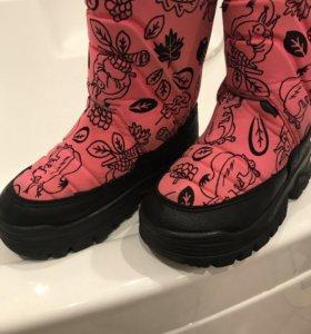 Зимние сапоги Demar для девочки