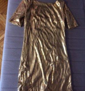 Платье паетки