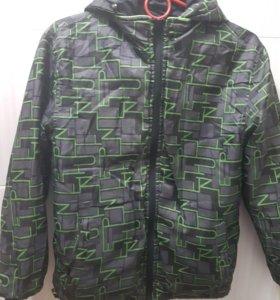 Куртка двустороняя - ветровка