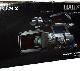 видеокамера Sony HDR-FX1000E. SteadyCam FlyCam.