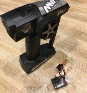 Аппаратура и приёмник + регулятор коллекторный