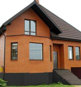 Строительство домов из кирпича.