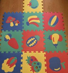 Детский коврик- пазл