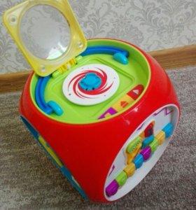 Мультикуб игрушка развивающая
