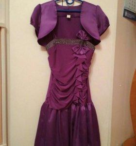 Платье с балеро вечернее