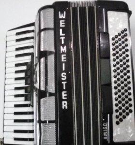 немецкий аккордеон WELTMEISTER AMIGO