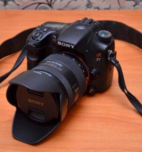 Sony a77 kit 16-50 2.8