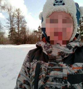 Зимний комплект на мальчика, размер 100