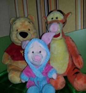 Винни, Тигруля и Пятачок