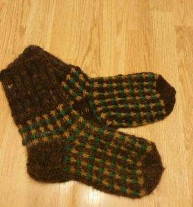 Настоящие шерстяные носки