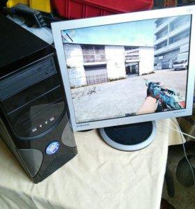 """Комплект Core i3 2120 / HD 6670 1 Gb + монитор 19"""""""